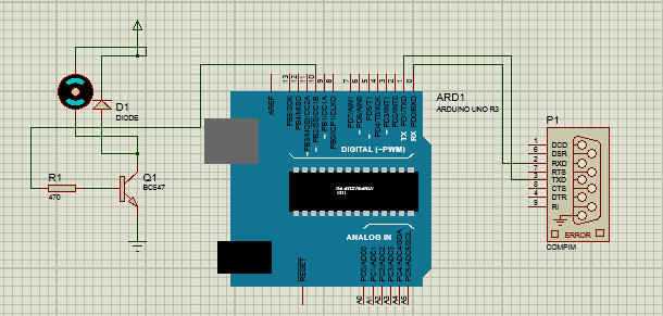Processing signal in arduino is not working