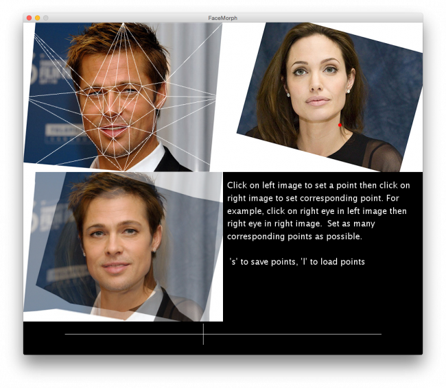 Face Morphing - Processing 2 x and 3 x Forum