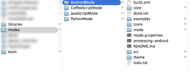 android-mode